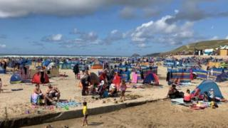 South west England full to capacity, say police