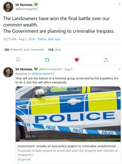 The Landowners have won the final battle over our common wealth. The Government are planning to  ...