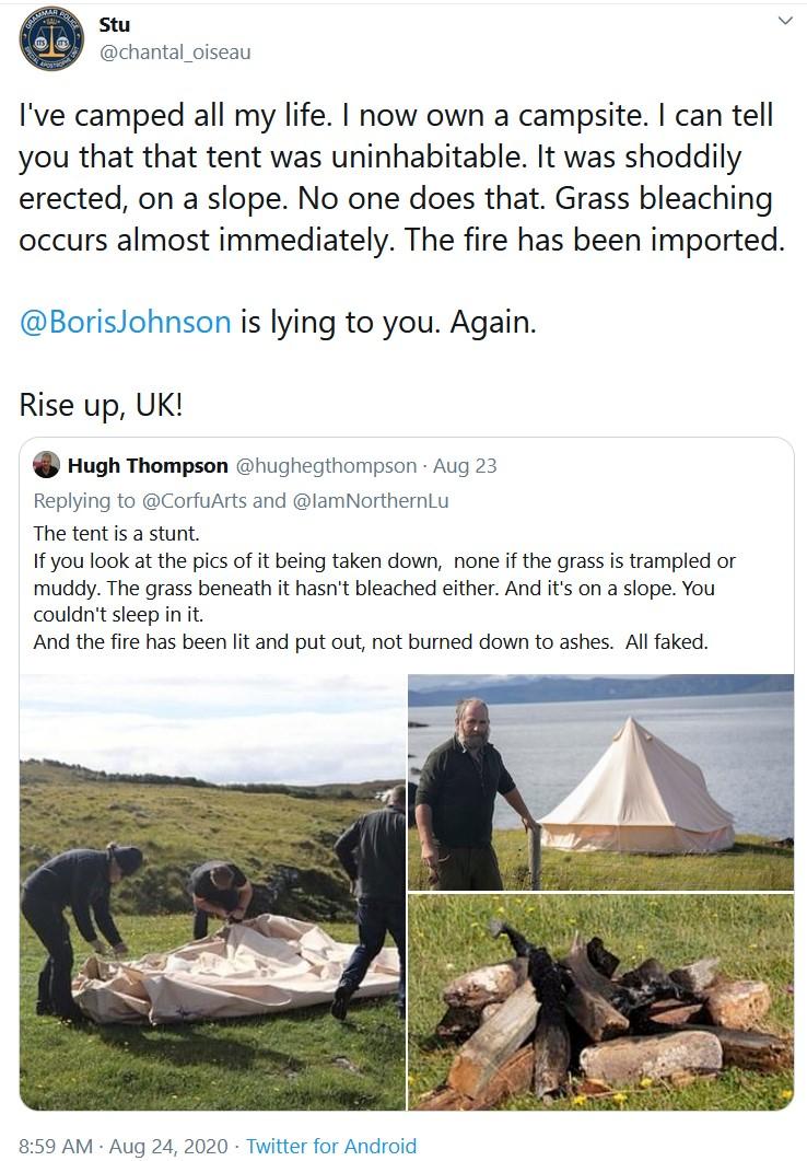 Johnson lies yet again