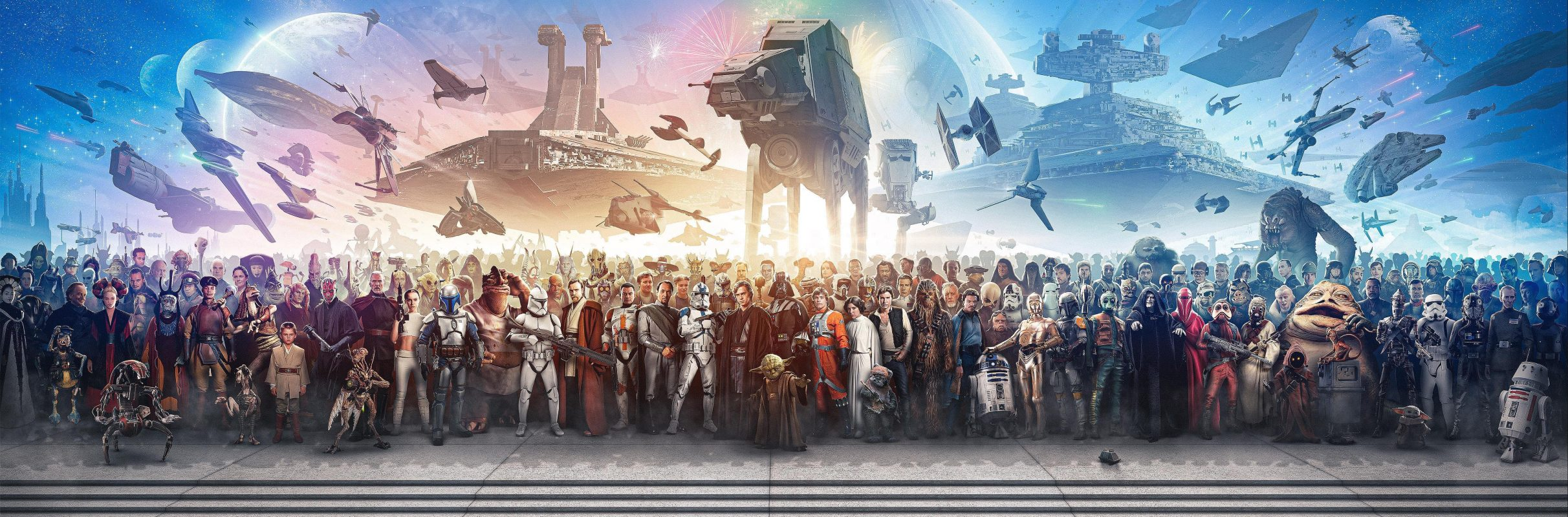 Every OT and PT Star Wars character