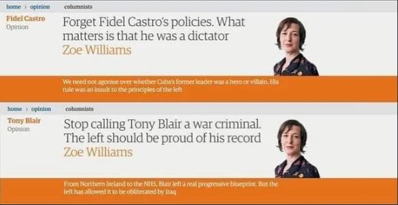 The Guardian can be just as much a propaganda rag as the red tops