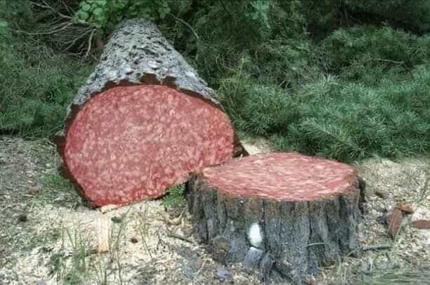 Italian Salami Tree