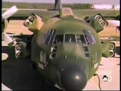 This Is A C-130 That Was Specially Modified To Land In A Stadium And Rescue Hostages In Iran In 1980
