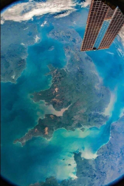 The UK from the ISS
