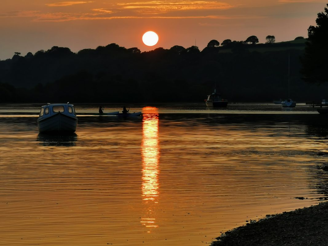 Beautiful sunset in Devoran 20/09/20