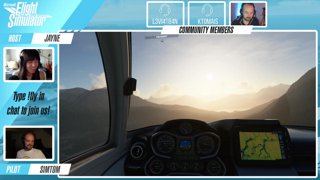 Official MSFS Twitch stream: Community Fly-in [Icon A5] – Come !fly with us