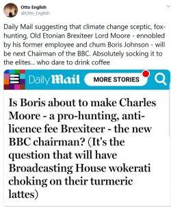More BBC cronyism