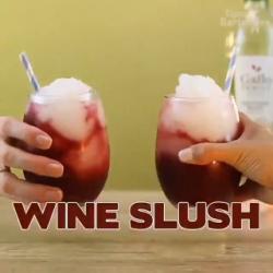 Wine slushies