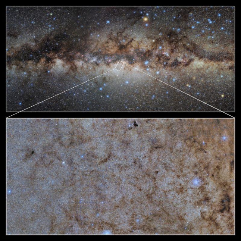 Survey of Milky Way yields huge 50,000 x 25,000-pixel zoomable image
