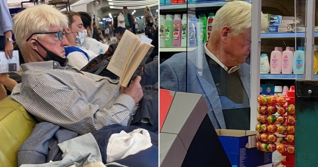 Boris Johnson's dad caught flouting mask rules for second time in week