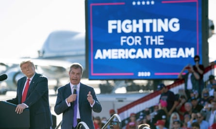Behold Trump's pre-election secret weapon: Nigel Farage, 'king of Europe'