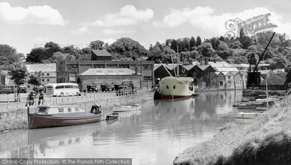 Truro quay 1955