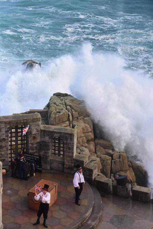 Stormy day at the MInack Theatre