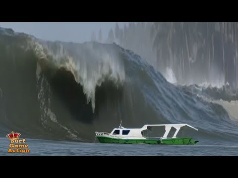 Boats Caught Inside Massive Waves 3 – YouTube