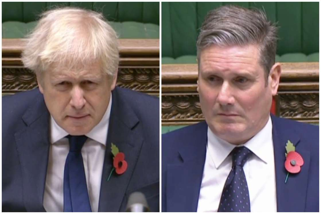 Keir Starmer accuses the government of spending £150m on zero face masks