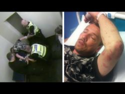 Forcibly strip searched and beaten for arguing with the police – YouTube