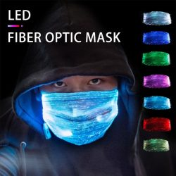 LED Face Mask Color Changing Light Up Face Mask