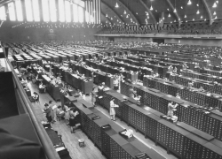 FBI's fingerprint files, 1944.