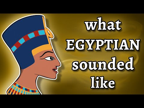What Ancient Egyptian Sounded Like – and how we know – YouTube