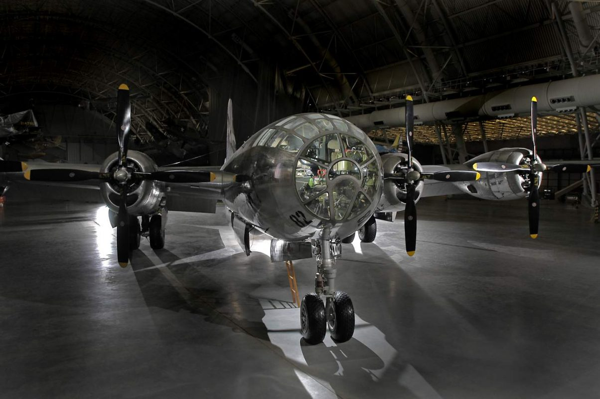 """Today in 1953, """"Enola Gay,"""", a B-29 Superfortress, completed its final flight. The a ..."""