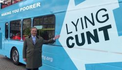 Now thats a slogan on a bus that ISNT a lie