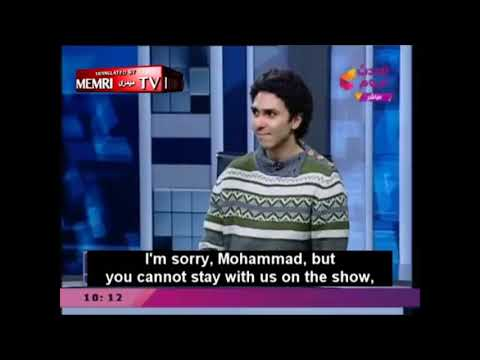Atheist goes on Egyptian TV. Everyone loses their minds. – YouTube