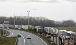 Brexit stockpiling causing 10-mile tailbacks in Calais | Brexit | The Guardian