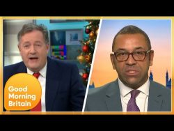 Piers in Heated Clash With James Cleverly Over Brexit No Deal | Good Morning Britain – YouTube