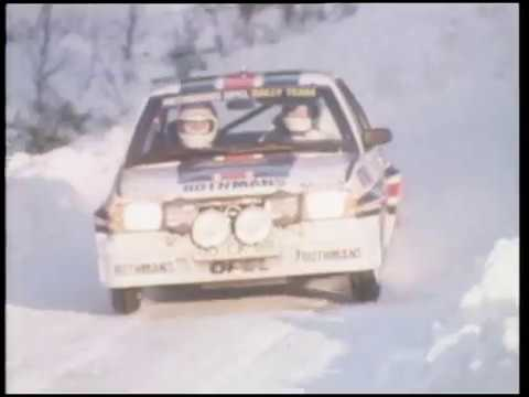 RALLYING in the 1980's – YouTube