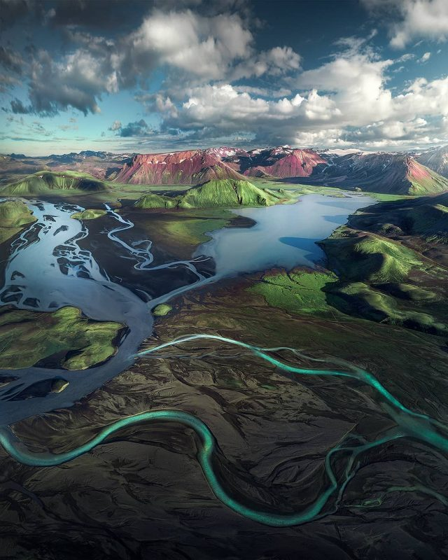 The highlands of Iceland don't even look real. By: Anar Kristjanson