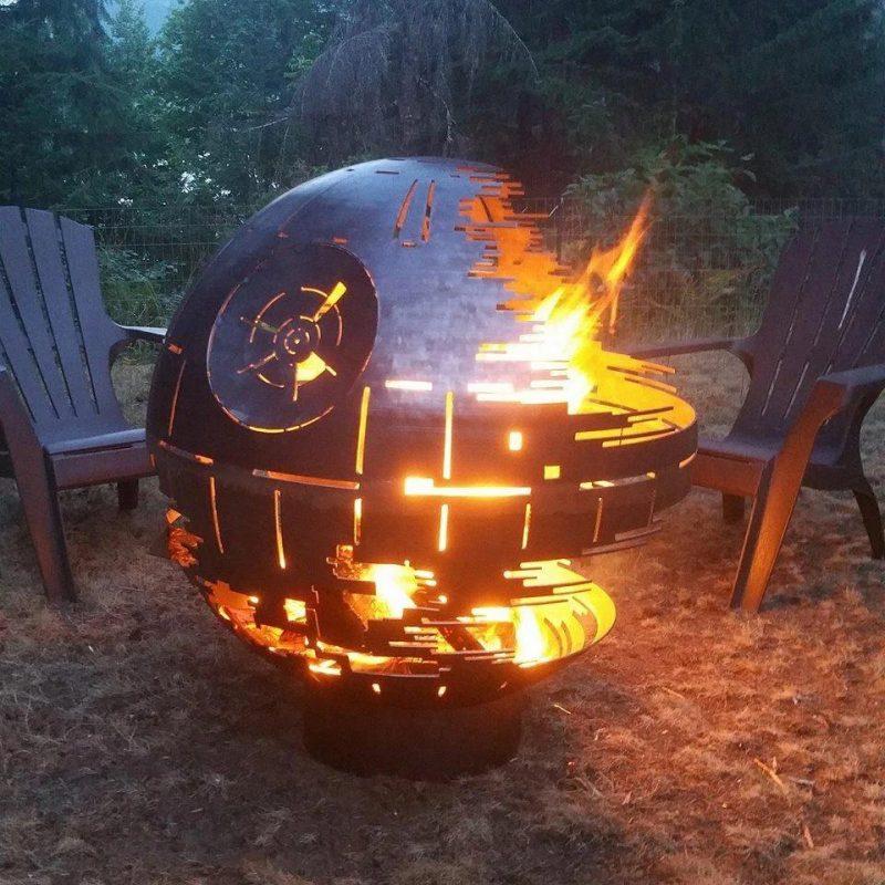Death star fire pit