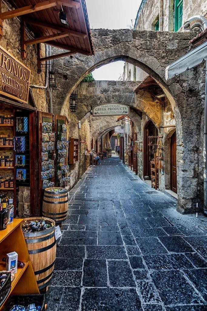 Backstreets in Greece