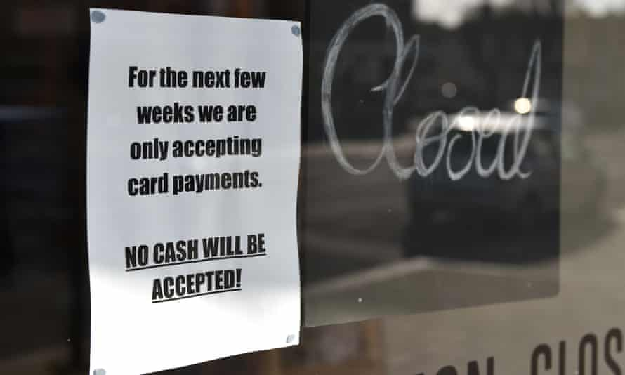 More than a third of UK shoppers blocked from paying with cash in Covid-19 crisis
