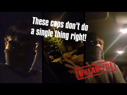 Bad Cops, Unlawful Stops No.1 – YouTube