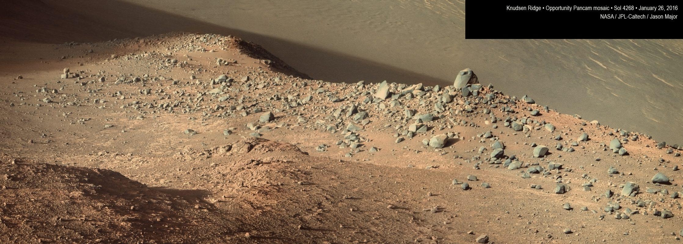 Mars panorama from Curiosity