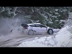 Ford Fiesta WRC 2021 testing for Rallye Monte Carlo – YouTube