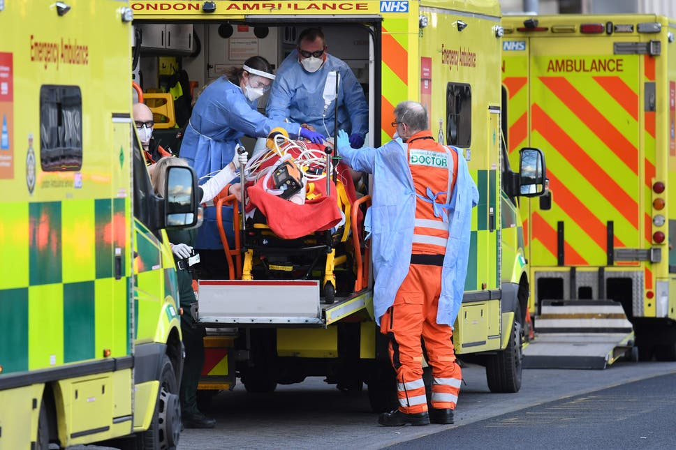 Patients face having 'vital operations cancelled' as London hospitals fill with Covid patients