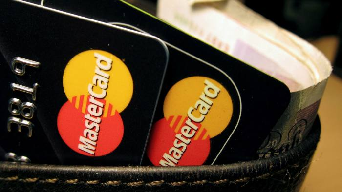 Mastercard to increase fees for UK purchases from EU | Financial Times