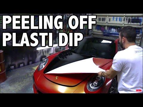Peeling Plasti Dip Off Your Car – Full Tutorial – YouTube