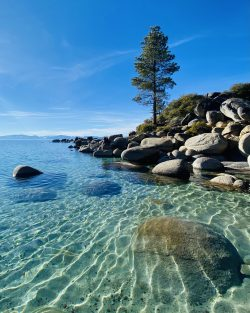 Lake Tahoe in the summer