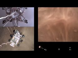 Perseverance Rover's Descent and Touchdown on Mars (Official NASA Video) – YouTube