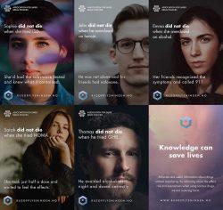 Brilliant drug prevention campaign in Norway