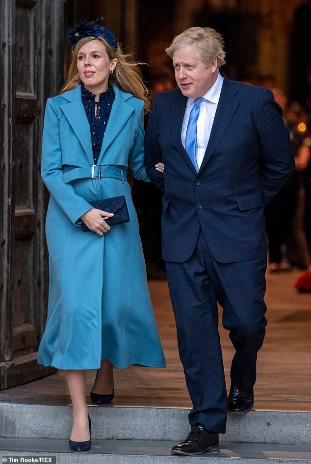 Boris Johnson and Carrie Symonds have dined in style during the pandemic – thanks to a secret £1 ...