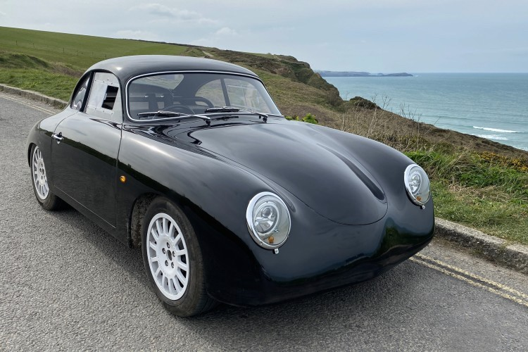 Ultralight Watt Porsche 356-inspired electric coupe transcends time