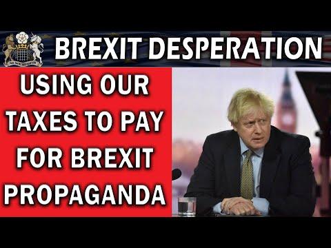 Government Drive Brexit Propaganda Campaign in Media – YouTube