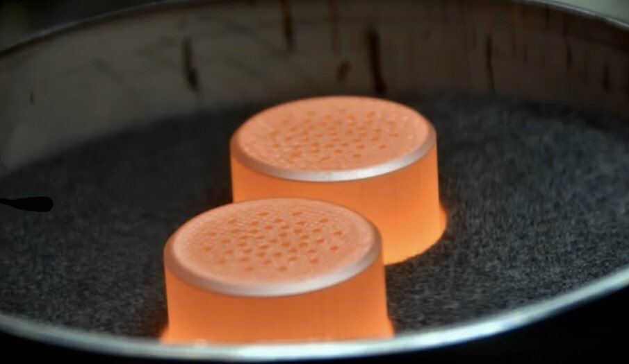 It's so fucked up that plutonium just looks like this. It could be orange flavoured, and w ...
