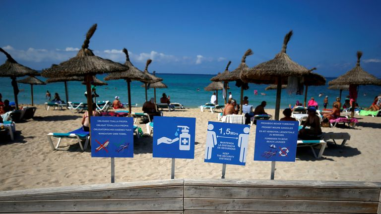 COVID-19: Holidaying abroad will mean a £5k fine under new coronavirus laws set to come in next week