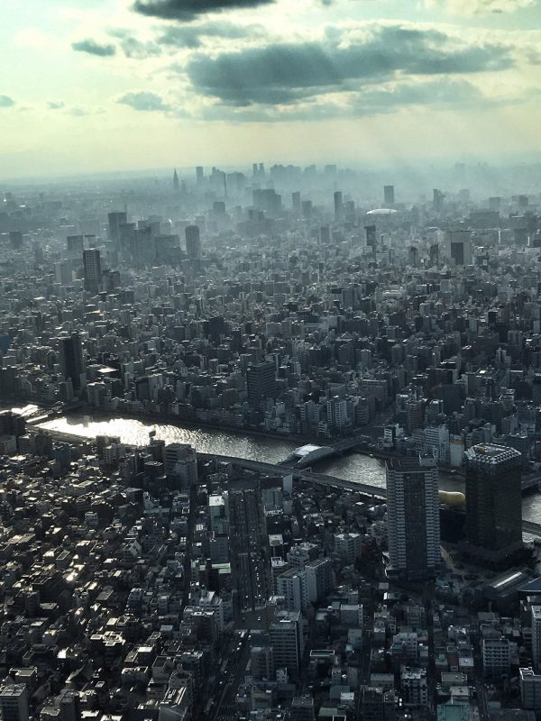 View from the tallest building, Tokyo