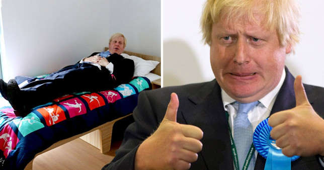 Boris Johnson 'orders taxpayer-funded bed' after saying he 'doesn't have any stuff