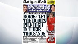COVID-19: Minister denies Boris Johnson made 'let the bodies pile high' comment R ...